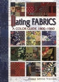 Dating Fabrics – A Color Guide 1800-1960