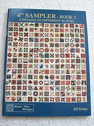 4″ sampler-Book 1: Includes 225 different blocks