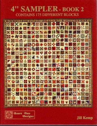 4″ Sampler – Book 2: Contains 175 Different Blocks